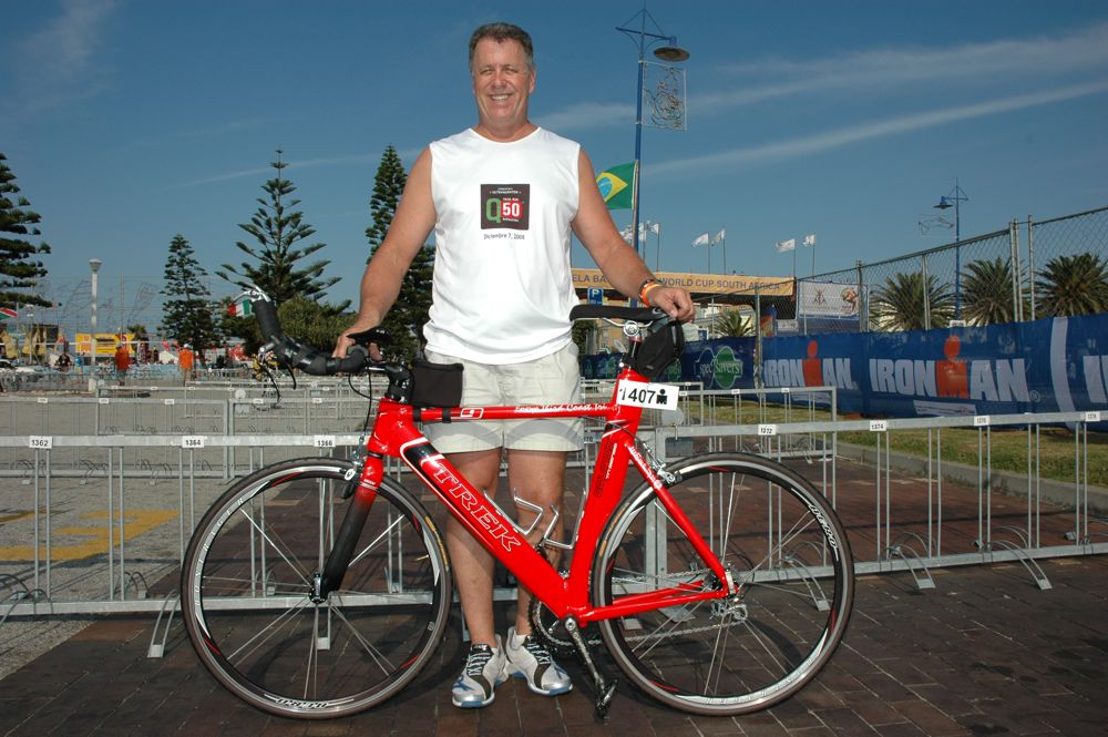 Dave Orlowski, Ironman South Africa, 2009