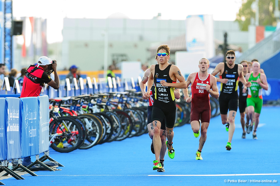 Justus Nieschlag (#51, GER) - IPIC World Triathlon Abu Dhabi 2015