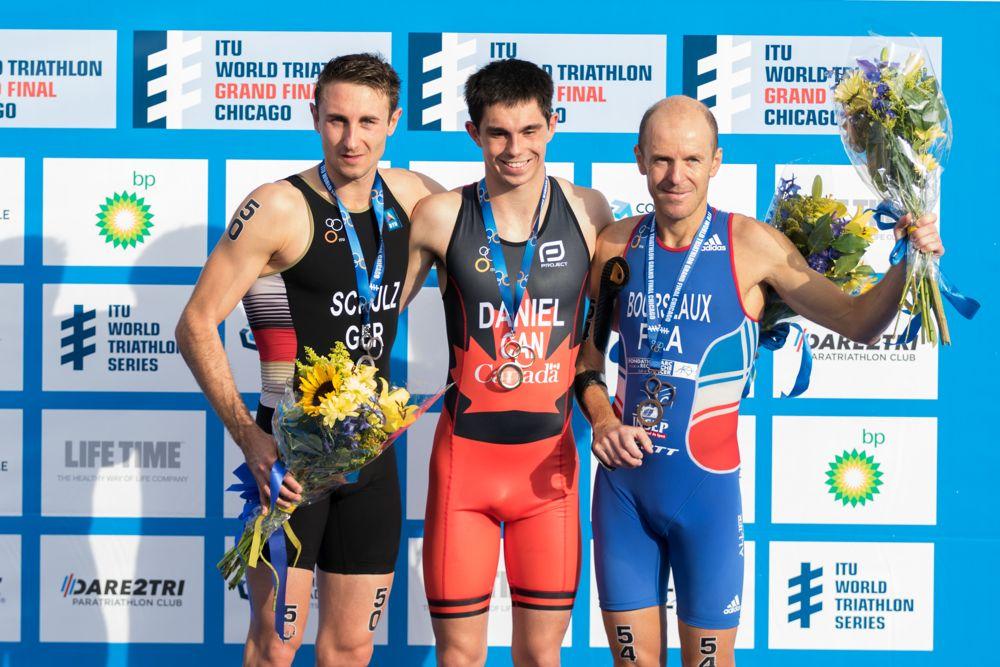 ITU World Triathlon Grand Final Chicago, Elite Paratriathlon Weltmeisterschaften, ©Joseph Kleindl