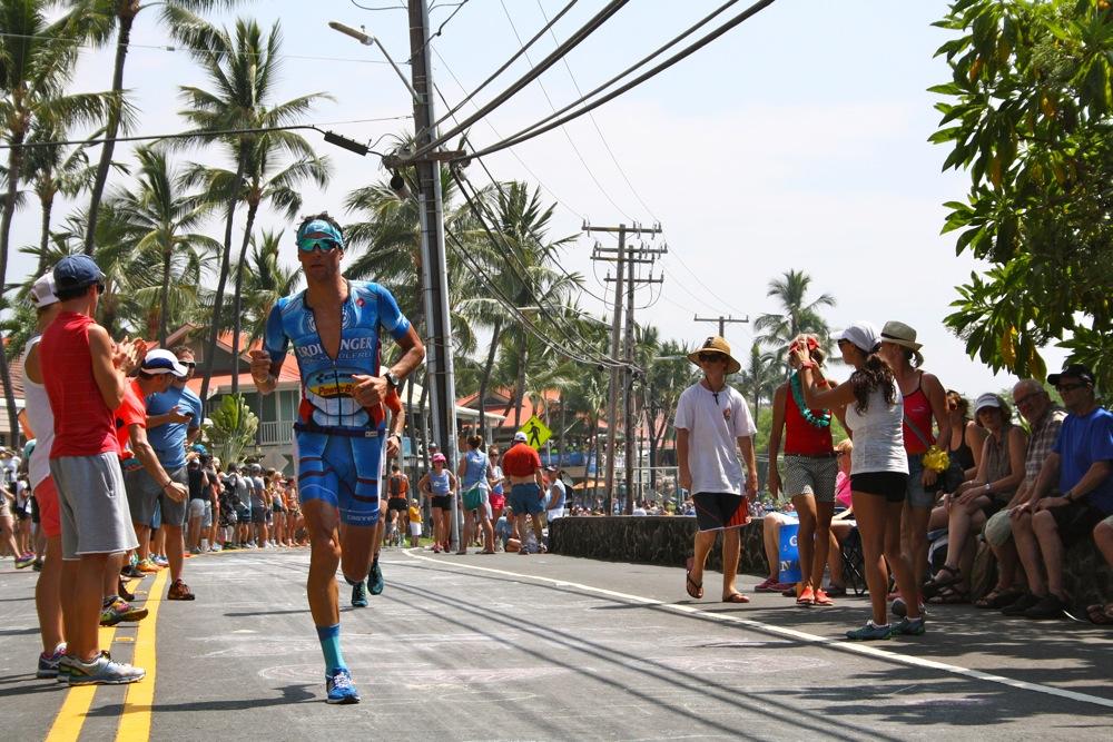 Profitriathlet Andreas Raelert beim Ironman Hawaii