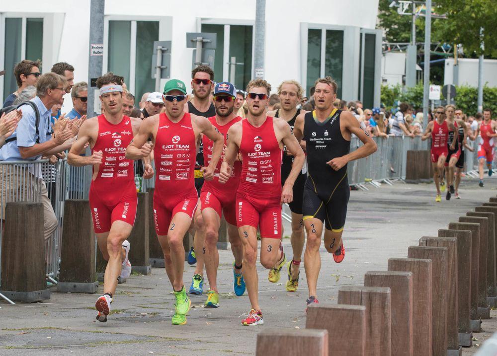 DM Triathlon 2015, Düsseldorf,28.06.2015,©Joseph Kleindl