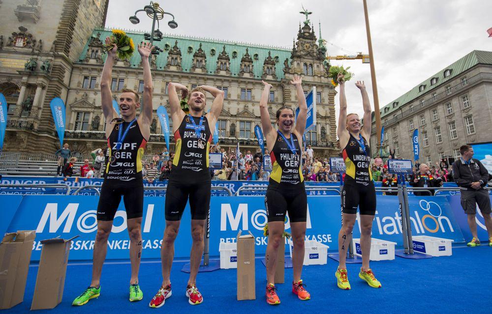 Hamburg Wasser World Triathlon, Hamburg, 17.07.2016, ©JoKleindl