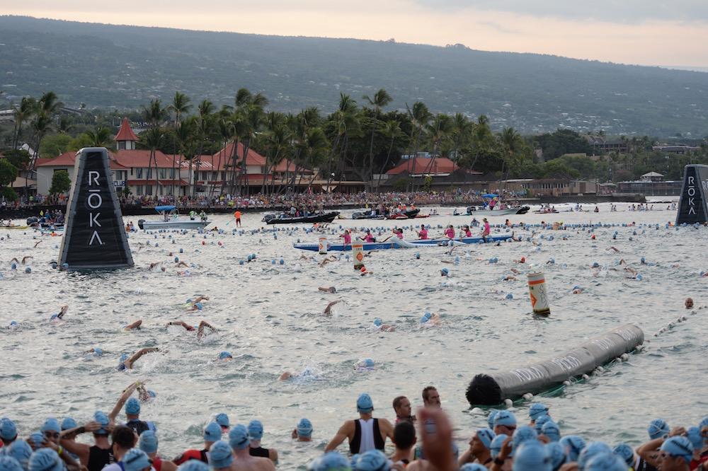 Ironman Hawaii 2016: Schwimmstart