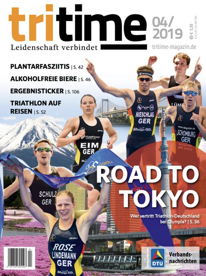 tritime 04-2019 Road to Tokyo! Wer vertritt Triathlon-Deutschland bei Olympia?