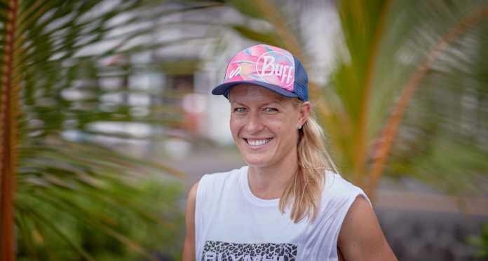 Daniela Bleymehl kurz vor ihrer zweiten Hawaii-Teilnahme © IsaakPapadopoulos |weitsprung.de