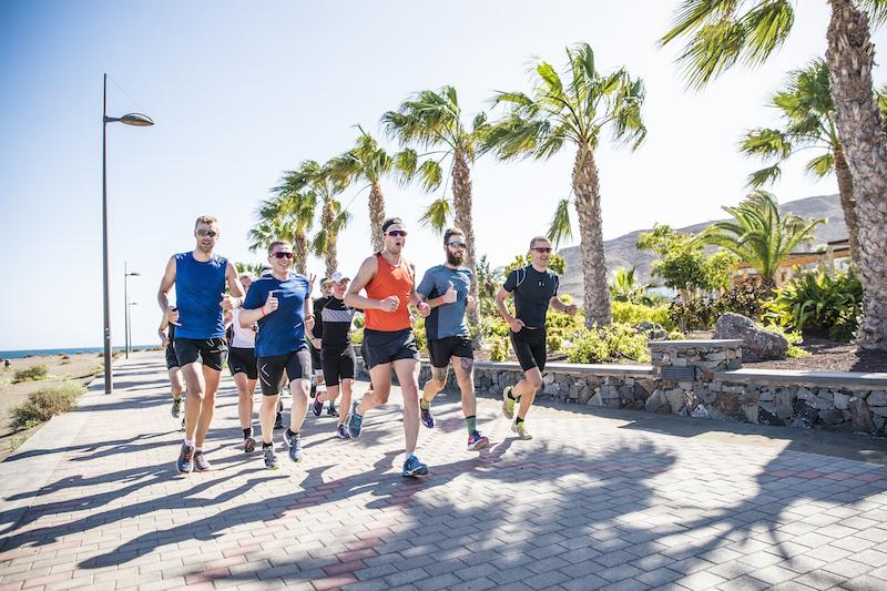 Fuerteventura, Hotelanlage, Laufen, Playitas, Running