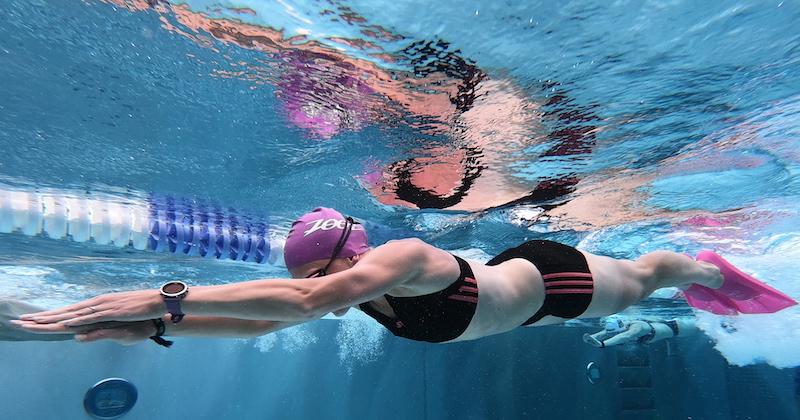 Hypoxietraining beim Schwimmen