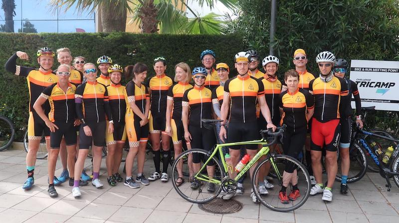 Trainingslager mit dem Tricamp Team