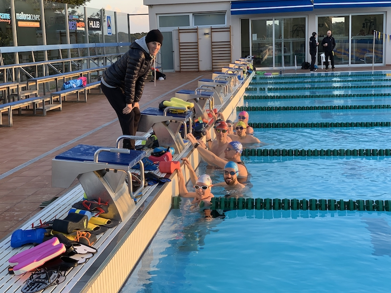 Trainingcamp Huerzeler Schwimmtraininng Pool