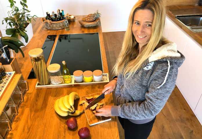 Triathloncoach Susa Buckelei gibt Kochtipps