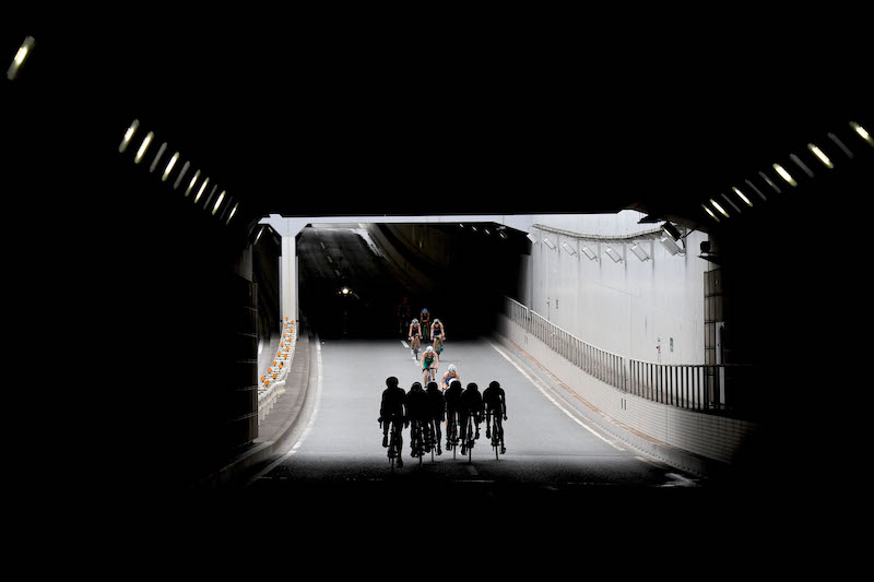 Radgruppe_Tokyo-Testevent_Triathlon