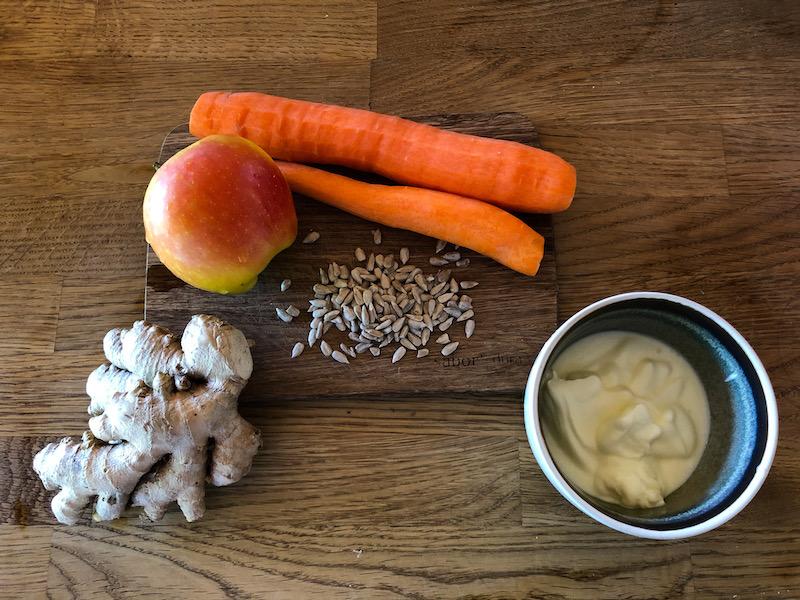Zutaten fürs Sportlerfrühstück