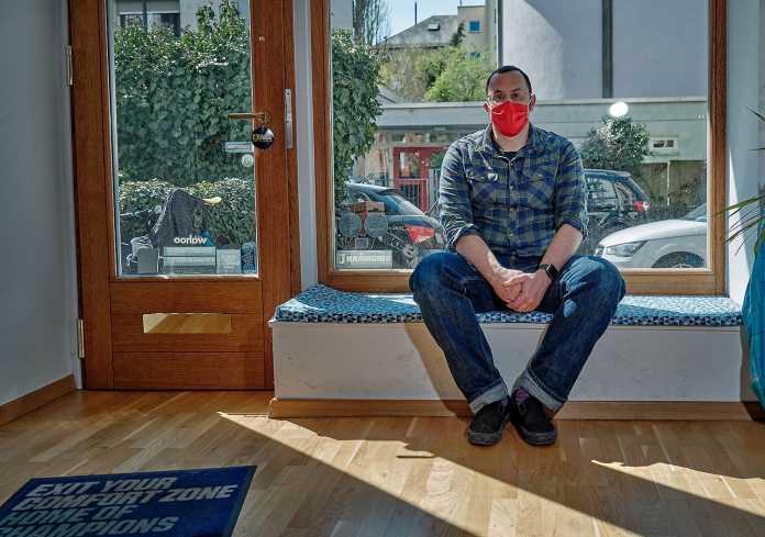Corona Talk: Mario Schmidt Wendling (Foto: Isaak Papadopoulos |weitsprung.de)