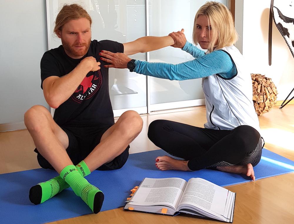 Mobility Training für Triathleten mit Fabian und Antje