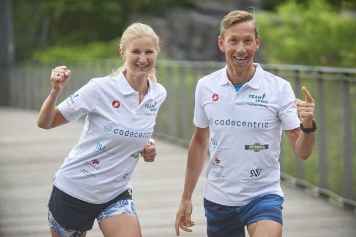 Melanie Lüdorf und Stavro Petri von YEAH! SPORT (Foto: Uwe Schinkel)
