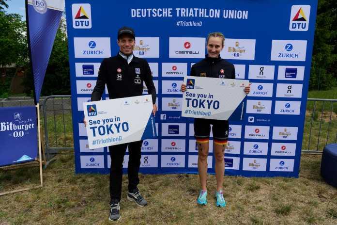Annabel Knoll und Justus Nieschlag sichern sich die beiden offenen Olympia-Tickets (Foto: Petko Beier |DTU)