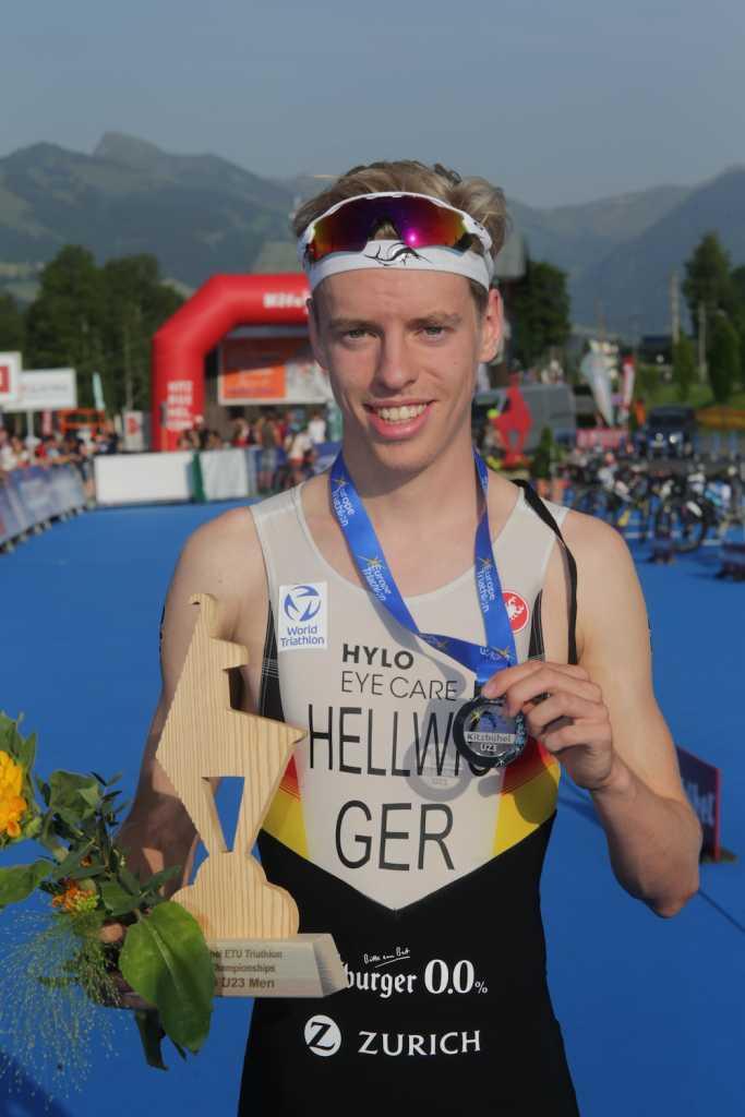 Tim Hellwig, 2. Platz U23 bei der EM-Kitzbühel 2021 (Foto: Armin Schirmaier | tritime-magazin.de)