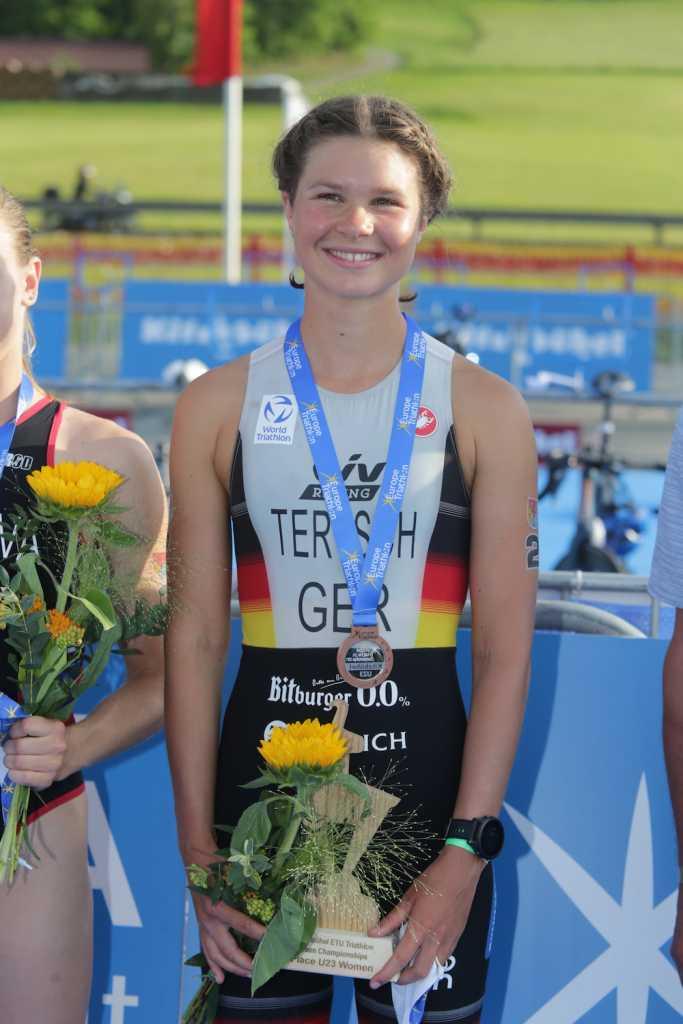 Lisa Tertsch, 3. Platz U23 bei der EM-Kitzbühel 2021 (Foto: Armin Schirmaier | tritime-magazin.de)