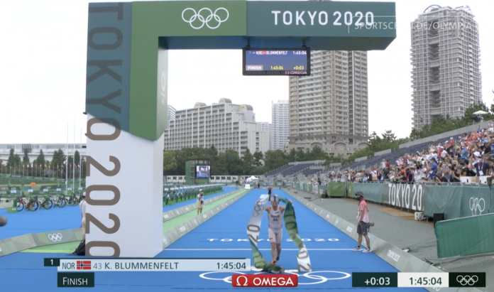 Tokyo 2020: Olympiasieg für Kristian Blummenfelt