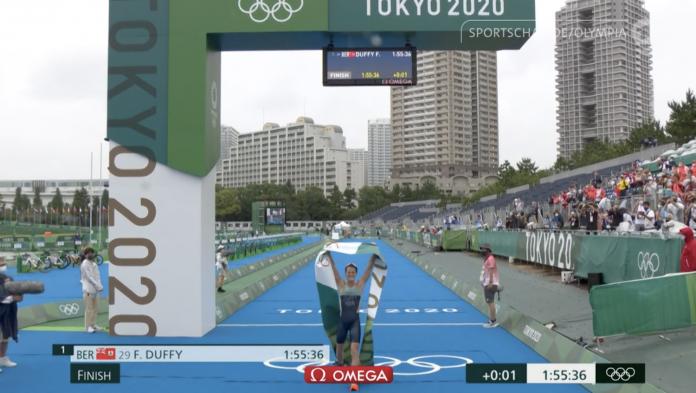 Tokyo 2020: Damenrennen (Olympiasiegerin Flora Duffy)