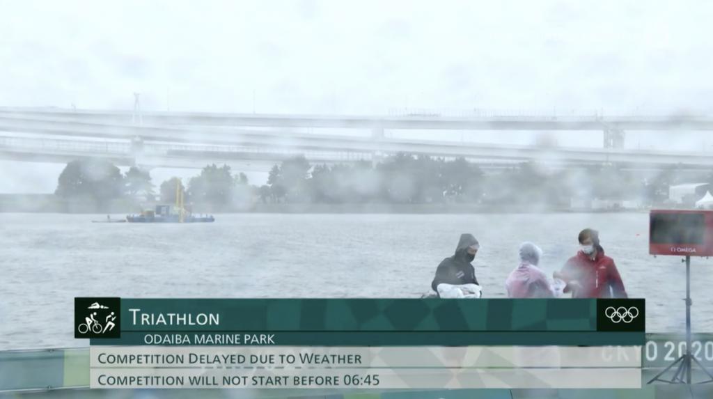 Tokyo 2020: Herausfordernde Wetterbedingungen beim Damenrennen