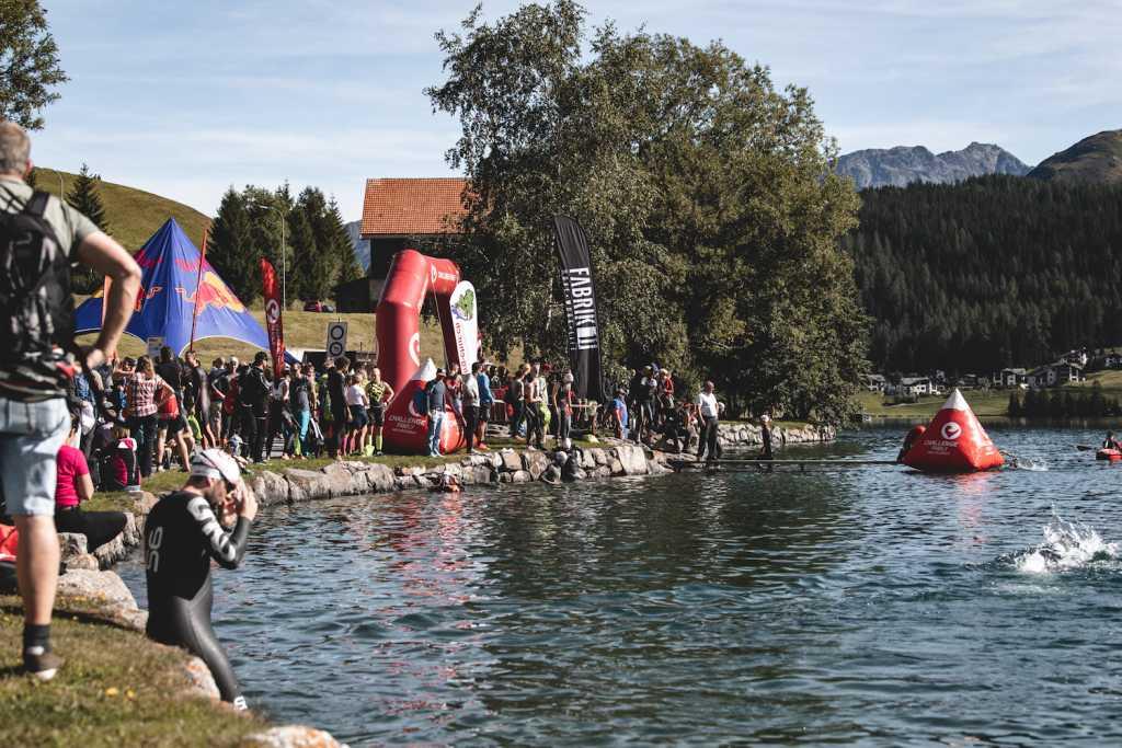 Challenge Davos: Startbereich (Foto: Frédéric Diserens)