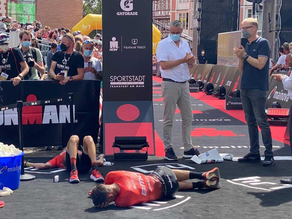 Mainova Ironman European Championship Frankfurt 2021 (Finishline)