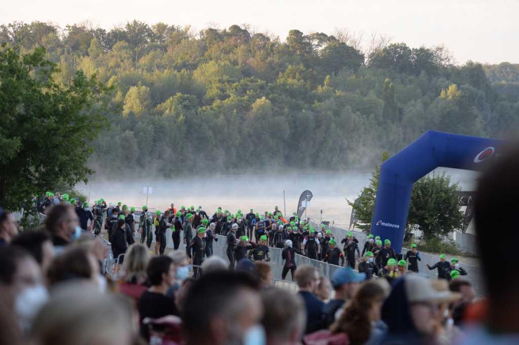 Mainova Ironman European Championship Frankfurt 2021 (Schwimmen)